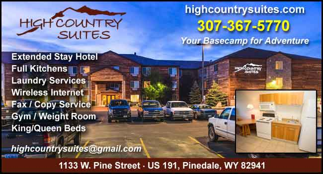 High Country Suites in Pinedale, Wyoming