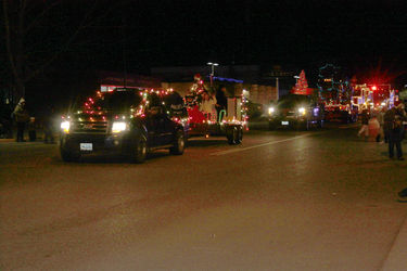 Big Piney Holiday Parade of Lights. Photo by Anita Miller.