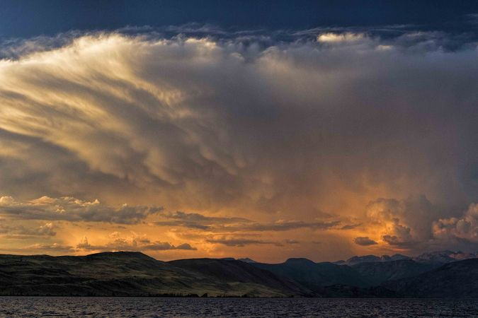Storms Over Riverton. Photo by Dave Bell.