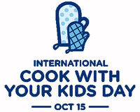 International Cook With Your Kids Day is Saturday, October 15th. Enter the Ben's Beginners Contest and have a chance to win $15,000 for your family and a $30,000 makeover for your school cafeteria. The more families that enter, the better your school's chances.